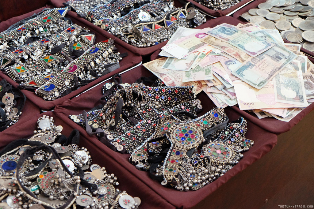 Stall selling trinkets in Dubai
