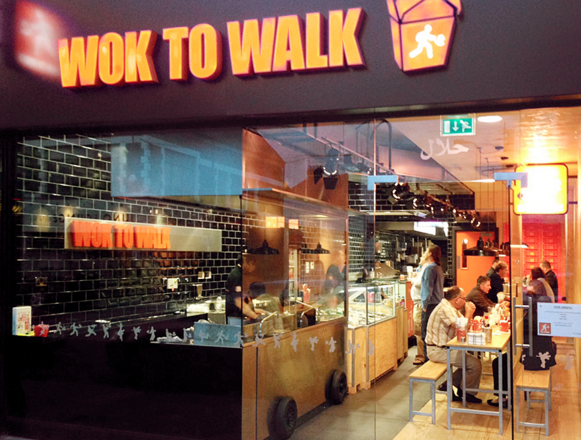 Wok to Walk restaurant