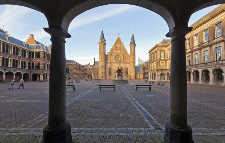 The Binnenhof in The Hague